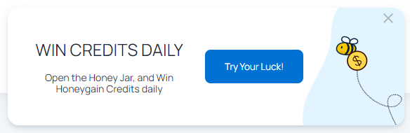 Earn Passive Income With HoneyGain - Daily Luck Game