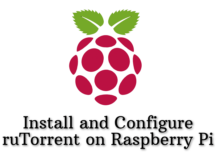 Install and Configure ruTorrent on Raspberry Pi