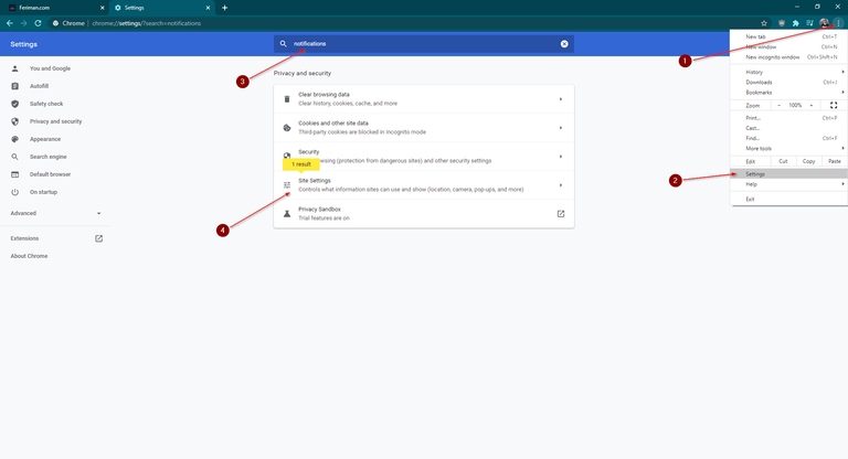 Disable Annoying Features in Chrome