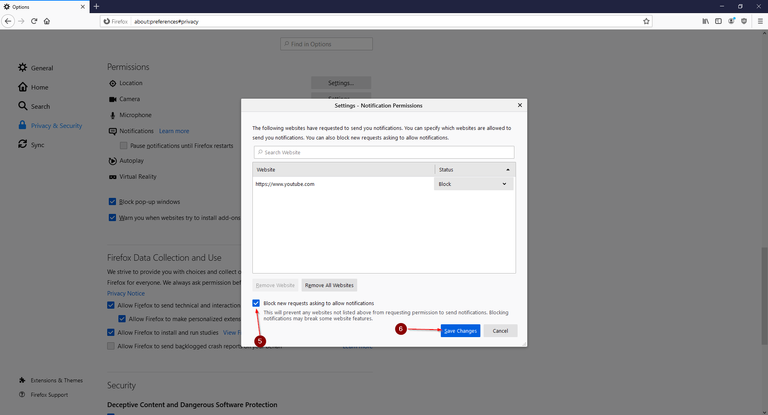Disable Annoying Features in Firefox